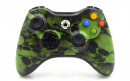 Xbox 360 Green Skulls Custom Modded Controller Small