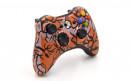 Xbox 360 Orange Predator Custom Modded Controller Small