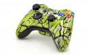 Xbox 360 Lime Predator Custom Modded Controller Small