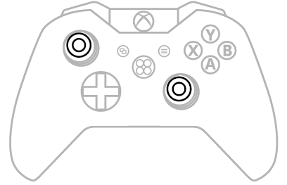 Thumbsticks Xbox One
