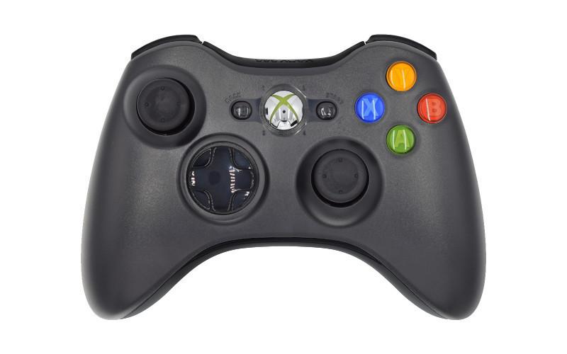 Xbox 360 Standard Black Custom Modded Controller