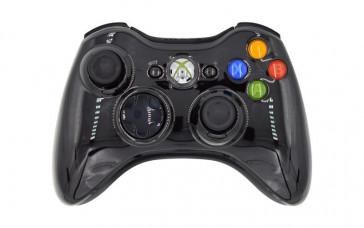 Xbox 360 Glossy Black Custom Modded Controller