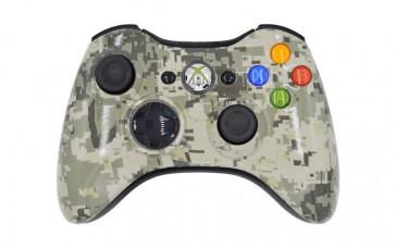 Xbox 360 Army Camo Custom Modded Controller