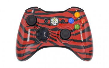 Xbox 360 Red Zebra Custom Modded Controller