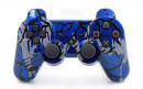 PS3 Blue Predator Custom Modded Controller Small