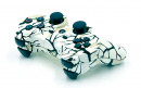 PS3 White Predator Custom Modded Controller Small