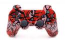PS3 Red Predator Custom Modded Controller Small
