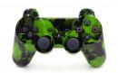 PS3 Green Skulls Custom Modded Controller Small
