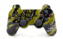 PS3 Green Splatter Custom Modded Controller Small