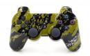 PS3 Green Splatter Custom Modded Controller Small