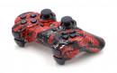PS3 Red Splatter Custom Modded Controller Small