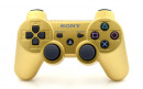 PS3 Matte Gold Custom Modded Controller Small