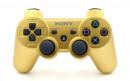 PS3 Matte Gold Custom Modded Controller Small