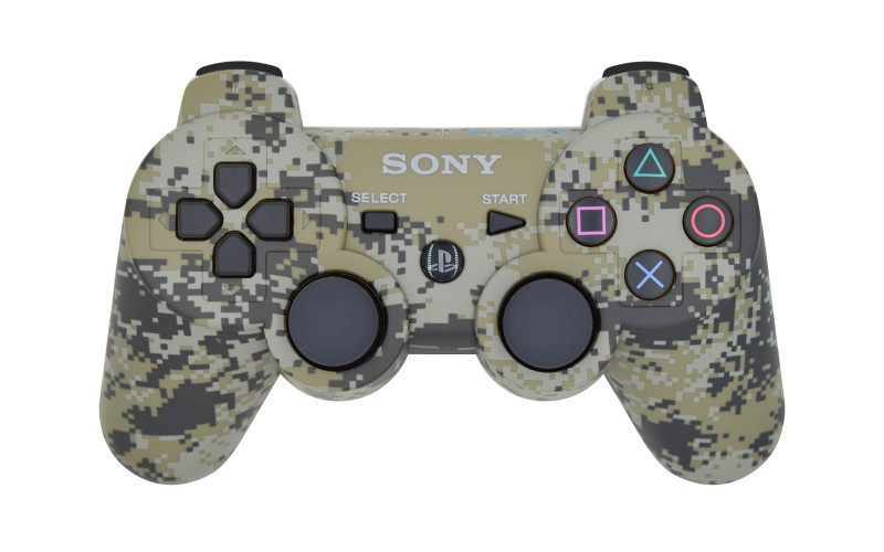 PS3 Urban Camouflage Custom Modded Controller