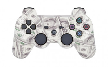 PS3 Benjamins Custom Modded Controller