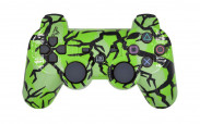 PS3 Lime Predator Custom Modded Controller