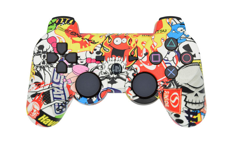 PS3 NASCAR Custom Modded Controller
