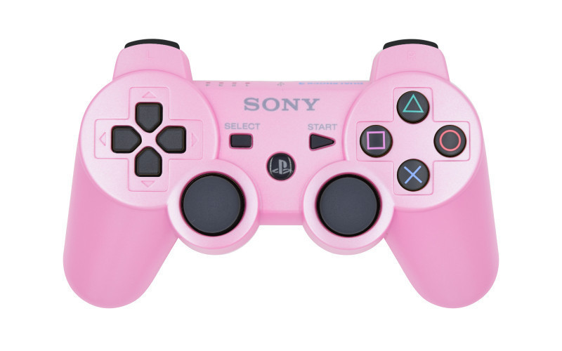 PS3 Pink Custom Modded Controller