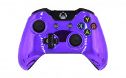 Xbox One Chrome Purple Custom Modded Controller