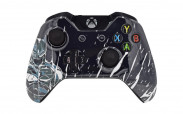 Xbox One Batman Splatter Custom Modded Controller
