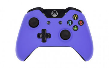 Xbox One Matte Purple Custom Modded Controller