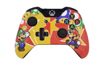 Xbox One Super Mario Custom Modded Controller
