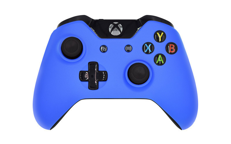 Xbox One Matte Blue Custom Modded Controller