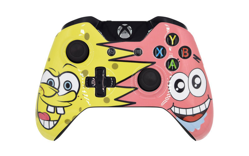 Xbox One SpongeBob Custom Modded Controller