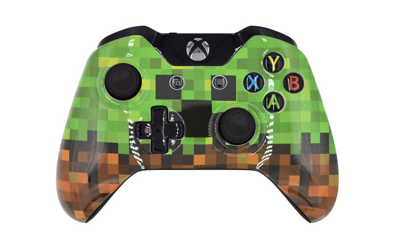 Xbox One Minecraft Custom Modded Controller