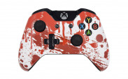 Xbox One Blood Splatter Custom Modded Controller