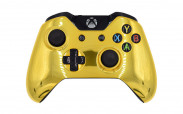 Xbox One Chrome Gold Custom Modded Controller