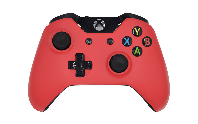 Xbox One Matte Red Custom Modded Controller