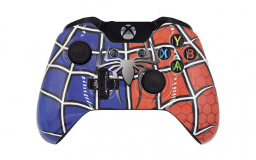 Xbox One Spider Man Custom Modded Controller