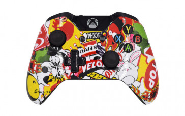 Xbox One Sticker Bomb Custom Modded Controller