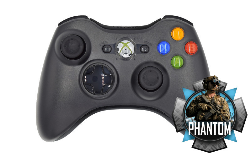 Ghosts Compatible Xbox 360 Multi-Mod Controller
