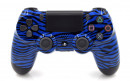 PS4 Pro Blue Tiger Custom Modded Controller Small