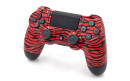 PS4 Pro Red Tiger Custom Modded Controller Small