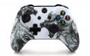 Xbox One S Zombie Wolves Custom Modded Controller Small