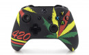 Xbox One S Cannabis Leaves Custom Modded Controller Small