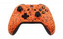 Xbox One S Rubberized Orange Custom Modded Controller Small