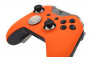 Custom Orange Xbox Elite Wireless Controller  — Close Up