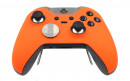 Custom Orange Xbox Elite Wireless Controller  — Front Side Up