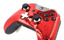 Custom Chrome Red Xbox Elite Wireless Controller  — Close Up