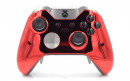 Custom Chrome Red Xbox Elite Wireless Controller  — Front Profile