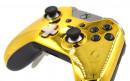 Custom Chrome Gold Xbox Elite Wireless Controller  — Close Up