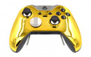 Custom Chrome Gold Xbox Elite Wireless Controller  — Front Side Up