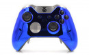 Custom Chrome Blue Xbox Elite Wireless Controller  — Front Profile