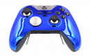 Custom Chrome Blue Xbox Elite Wireless Controller  — Front Side Up
