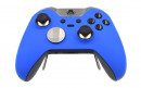 Custom Blue Xbox Elite Wireless Controller  — Front Side Three Quarters