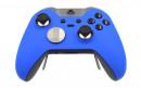 Custom Blue Xbox Elite Wireless Controller  — Front Side Three Quarters
